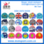 Colorful Children lycra swimming caps