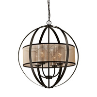 Classic Globe Pendant Light for Hotel Restaurant