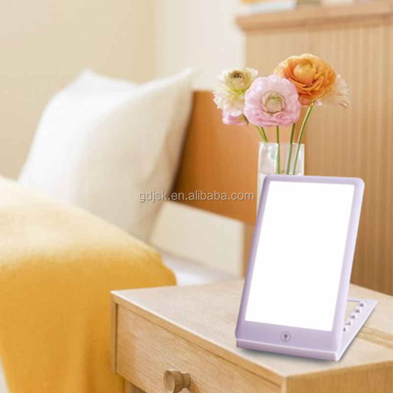 2018 New Arrival Portable Enhancing Bright Therapy Energy Lamp Adjustable Sad Light