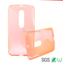 for motorola X pure silicone cover factory price quality phone case