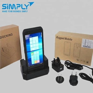 China NEW 6inch touch screen intel cpu windows mobile based operating system ce 6 6.0 6.1 6.5 7 8 industrial pda