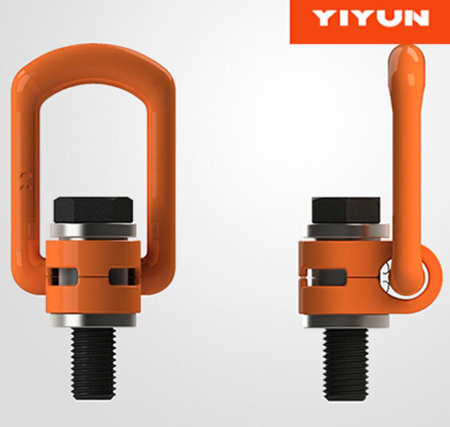 YD083 <strong>M10</strong> WLL 0.5T G80 Alloy Steel Hoist Ring With UNC thread