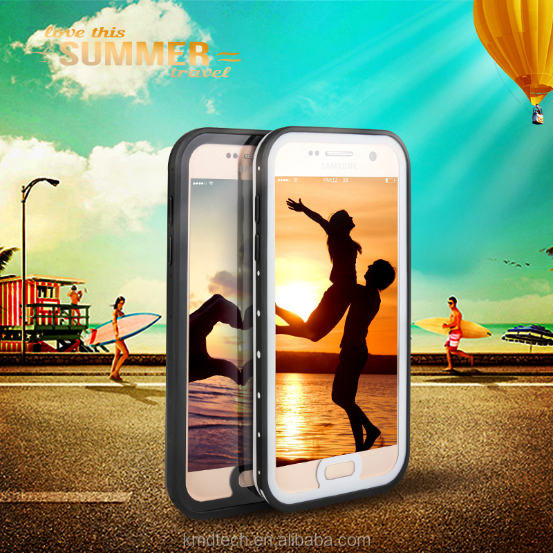 Slim & Stylish Waterproof Protective Case for Samsung Galaxy S7 Waterproof Phone Cover