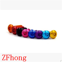 anodized Colorful Aluminum Button Screw for RC toys