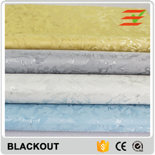 Total blackout fabrics polyester roller blinds home decoration