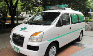 Hyundai Starex H1 Ambulance Car