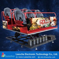 New Technology 360 Rotating Special Effects 6d cinema 7d cinema