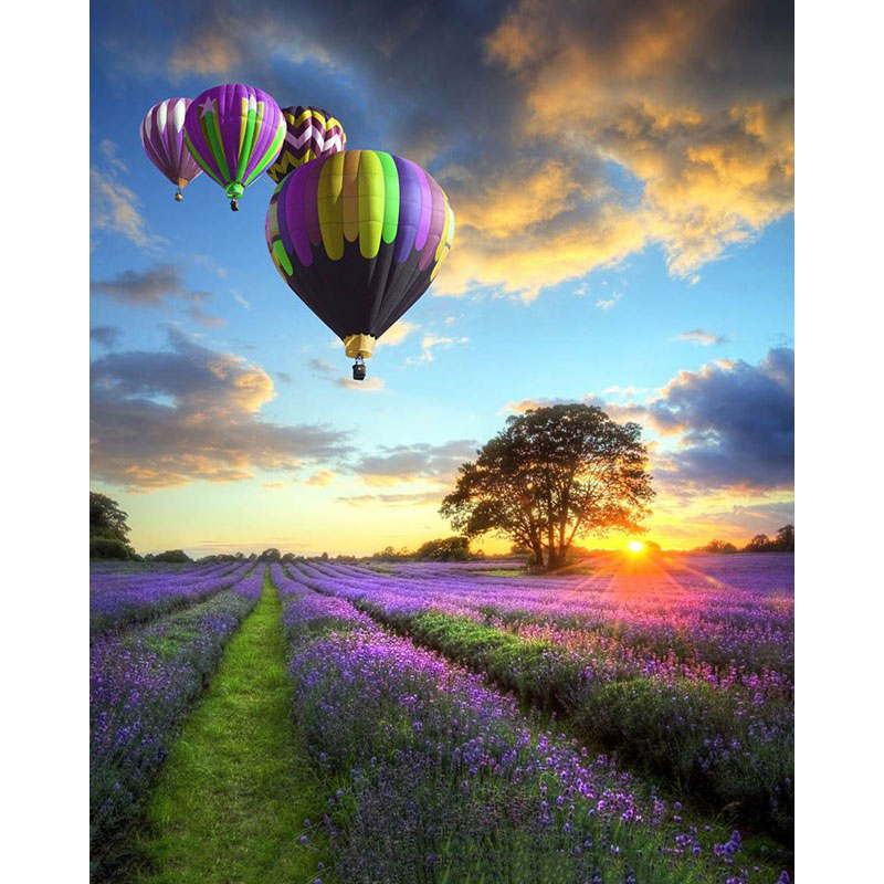 CHENISTORY DZ1059 Paint By Numbers Kits Oil Painting Balloons Wall Decor <strong>Art</strong> For Children No Frame