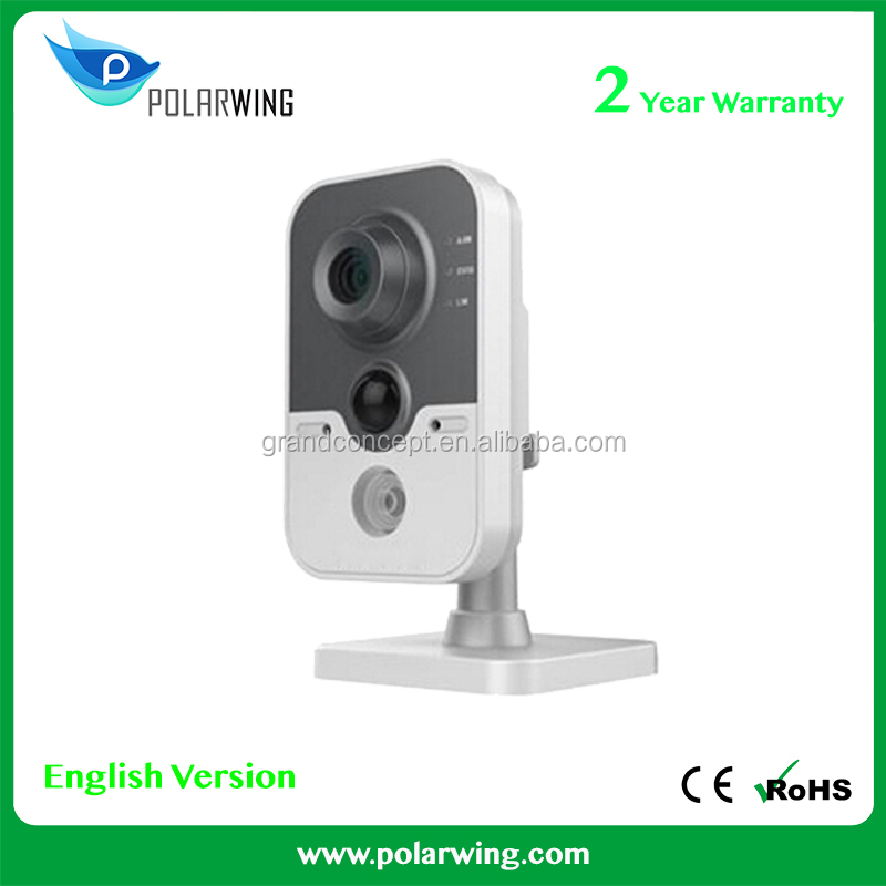 DS-2CD2422FWD-IW 1.0MP IR Cube network camera full HD 720P real-time vedio WIFI multi-function IP camera