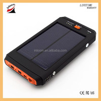 Portable universal solar charger, solar power bank for laptop/notebook/tablet