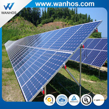 Galvanized Steel Solar Pile Ground Mounting Rack System, solar ground mounts prices