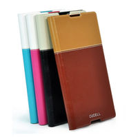 Luxury designed Flip PU Leather Case for Sony I5 cover