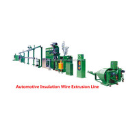 Automotive Cable Insulated Wire Production Line Cable Extruding Machine