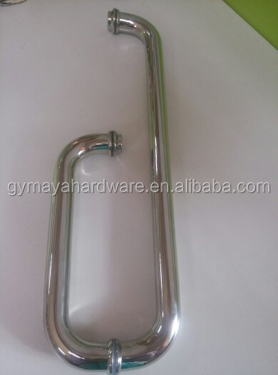 Bath hardware sets glass shower door handle stainless steel bathroom accessories MY-9853