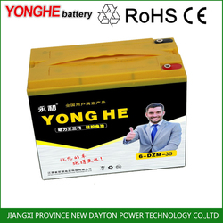 48 volt rechargeable parts dry cell electric bicycle battery for electric rickshaw