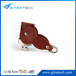 Promotional Leather USB Flash Drive 16 GB