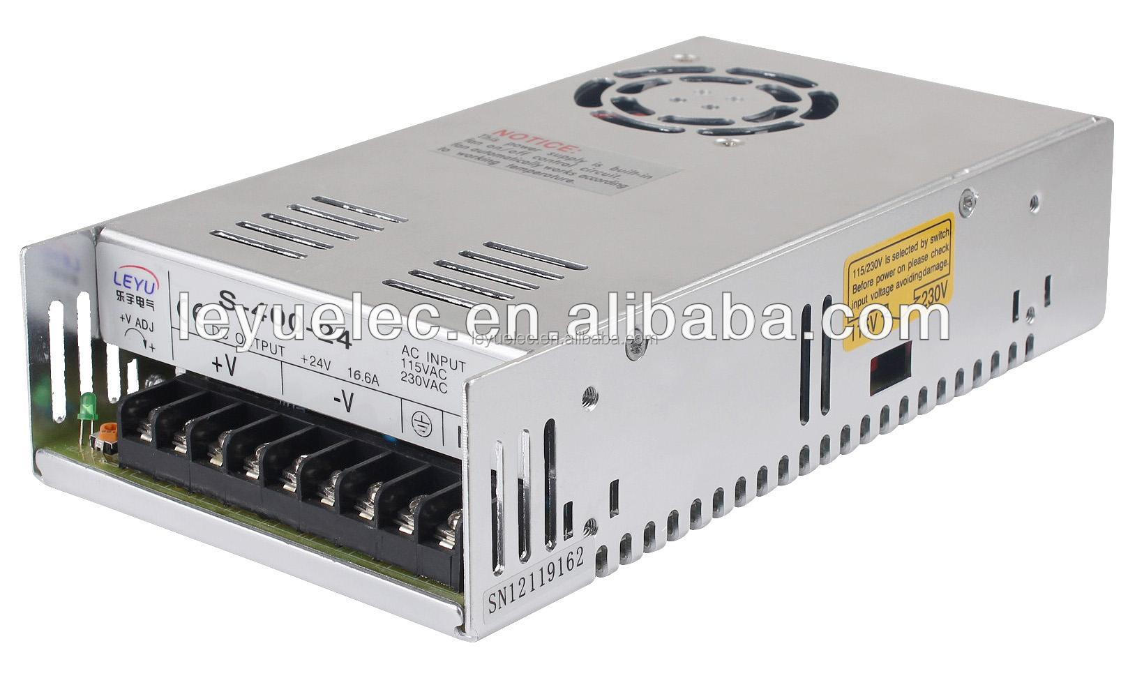 <strong>R</strong>-400 Power Factory hot sale 3d printer power supply 400w 24v 16.5A Universal Regulated Switching Power Supply