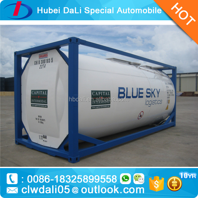 Oil iso tank container tank fuel tank for sale