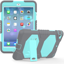 New Product Fashion Heavy Duty Armor Silicone Case For iPad Mini 1 2 3