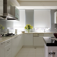 KKR Sahara beige quartz kitchen countertops