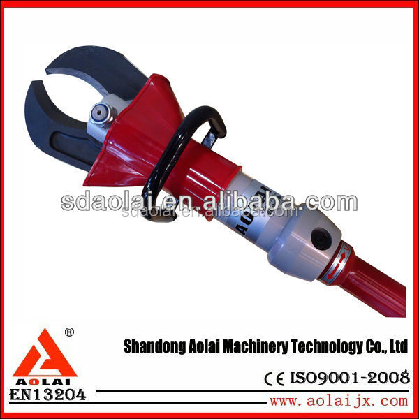 emergency rescue tool C type Cuuter rescue hydraulic cutter for traffic accident