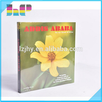 glossy art paper full color printing hardcover photo book printing service in China alibaba
