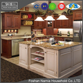 modern new design customized furniture stainless steel kitchen cabinet
