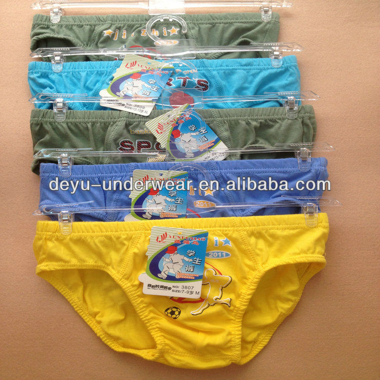 0.33USD High Quality Cotton Material Mixed Size Kids Panties Wearing/Children Thongs(kcnk061)