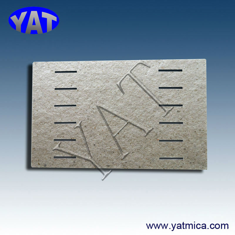China Manufacturers Various high voltage insulation mica cutting or stamping parts