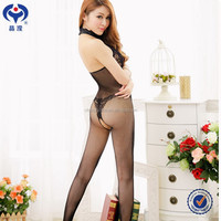 Lingerie Model Sexy Uniform Dress Leg Shaper Tights Bodystocking