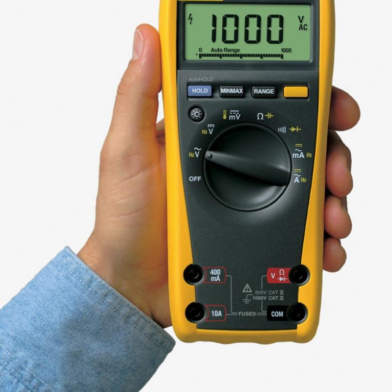 High Quality Fluke 179 True RMS Digital Multimeter with temperature