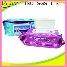 Skin care baby wipe plastic cases with OEM design in Asia
