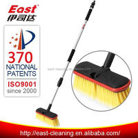 easy to hang telescopic rod plastic washing brushes