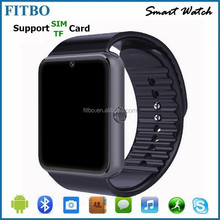 Last hight quality wrist watch phone android with FM + SIM oem for apple SE