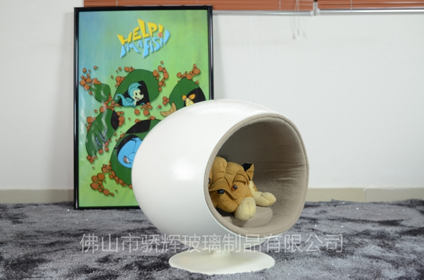 durable fiberglass pet furniyure lovely cat house