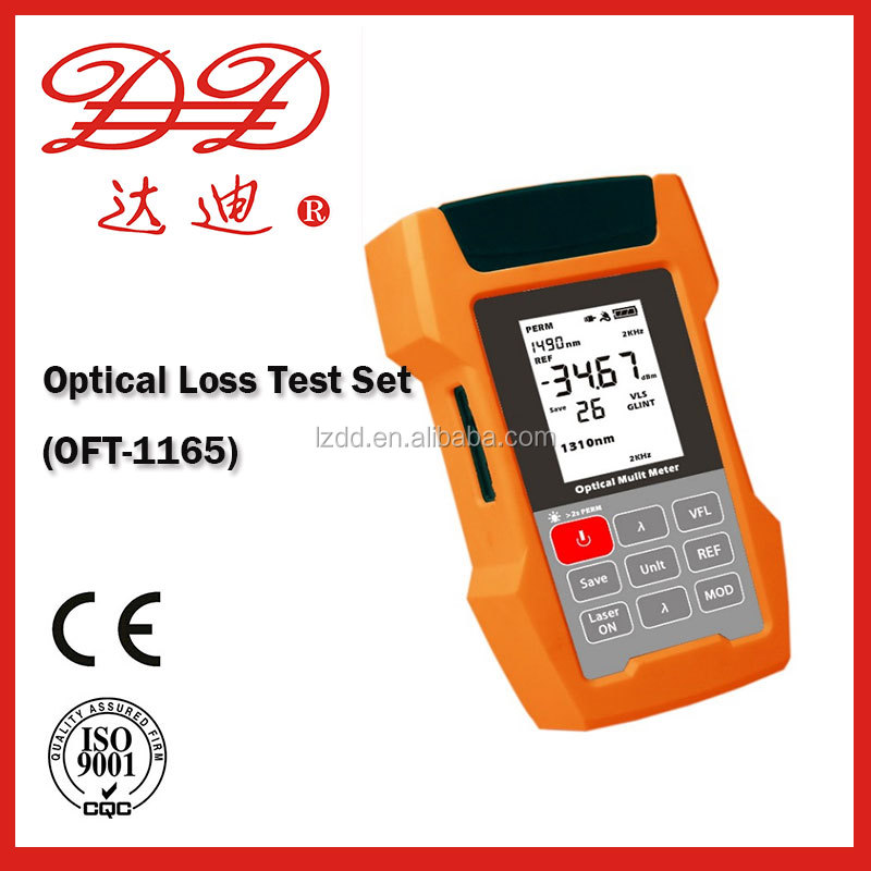 Optical Loss Test Set with optical power meter light source