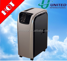 2017 new hot sale 10000BTU 12000BTU 14000BTU mini personal home used portable air conditioner mobile cooling and heating price
