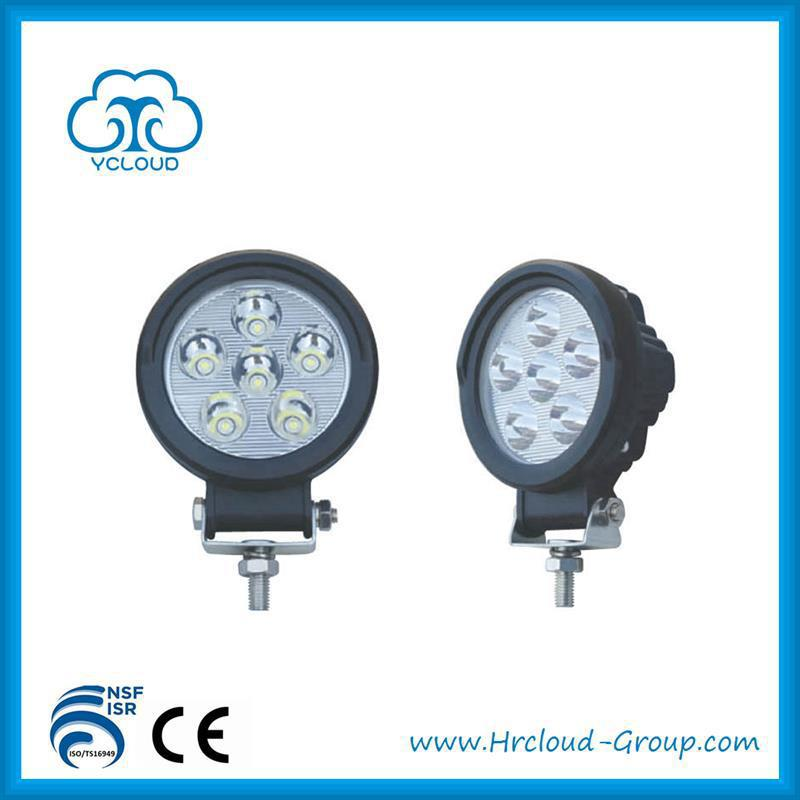 Brand new tractor parts 18w led work light with good price HR-C-005