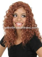 African American Front Lace Wig With Small Curl