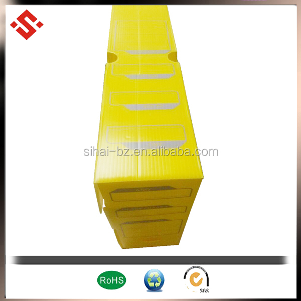 pp corrugated plastic box file
