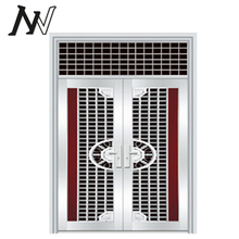interior dual swing gate opener building materials trade gsm modern wrought iron stainless steel single door design