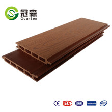 2017 WPC wall cladding sunlight resistant waterproof outer wall panel wood plastic composite board
