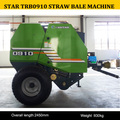 Shanghai star TRB0910 round hay baler for sale/silage baler machine