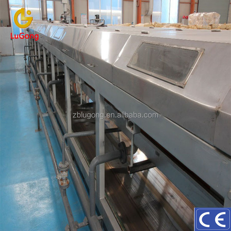 Fat Stearic Acid Granulator Mechanic Heat Preservation System