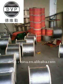 7x7 Galvanized steel wire rope OF DMP