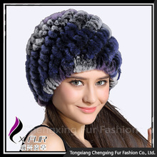 CX-C-189E 2016 New Genuine Rabbit Fur Women Winter European Style Hat Cap