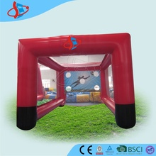 GMIF amusement inflatable target shooting gate / set / door for football / soccer