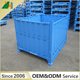 Warehouse low cost metal wire cage folding storage wire mesh container