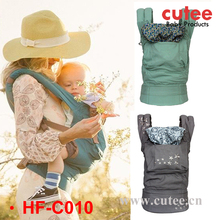 Breathable Backpack Hip Seat Kangaroo Baby Carrier With Cap