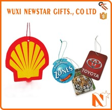 Most Popular Advertising Hanging Car Air Freshener